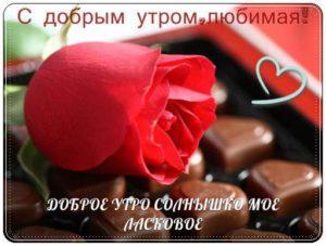 Красивые пожелания с добрым утром любимой девушке