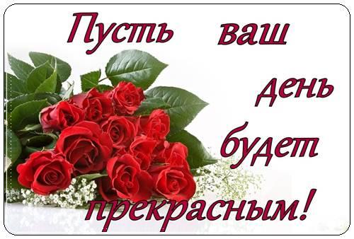Открытки с пожеланиями хорошего дня женщине красивые