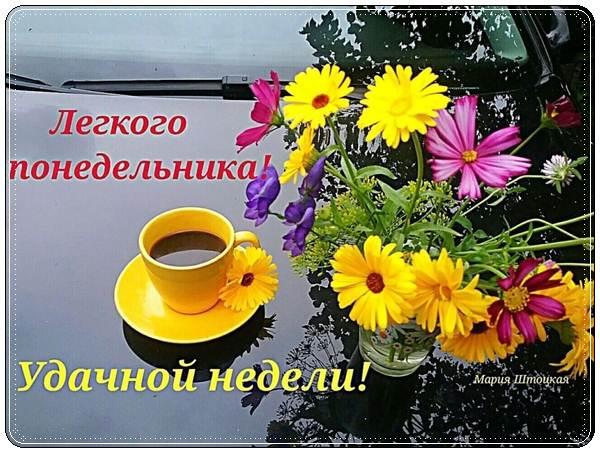 Пожелания доброго понедельника