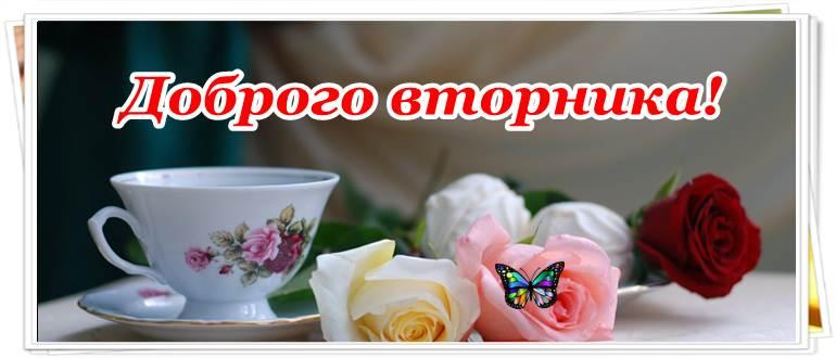 Пожелания доброго утра вторника