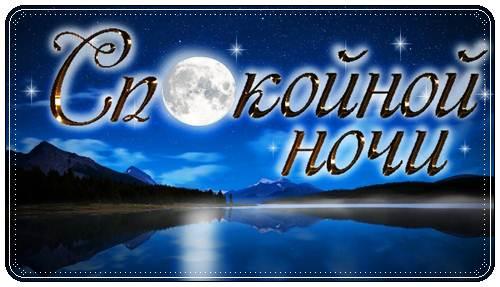 Трогательные пожелания спокойной ночи мужчине