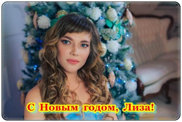 Поздравление Лизе с Новым годом